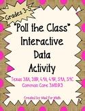 Poll The Class Interactive Data Activity Grades 3-5