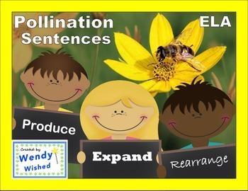 Pollination ELA Language: Plants Depend on Animals, Next Generation Science