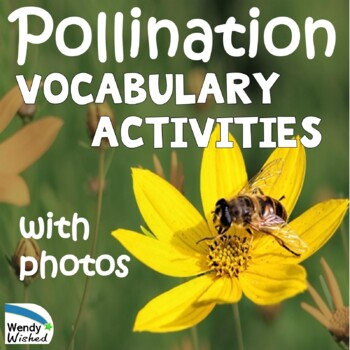 NGSS Pollination: Plants Depend on Animals Science Activities