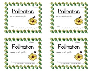Pollination: Review Study Guide Booklet