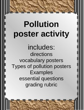 Polluction Effects Poster Activity with Rubric