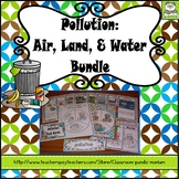 Pollution: Air, Land, and Water (Task Cards Included)