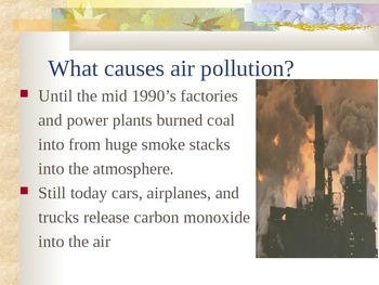 Pollution - Air Pollution