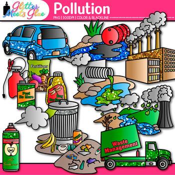 pollution clip art earth conservation of land water air rh teacherspayteachers com population clip art pollution clipart