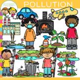 Pollution Clip Art {Whimsy Clips Earth Day Clip Art}
