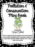 Pollution & Conservation Mini Book