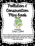 Pollution & Conservation Mini Book