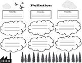 Pollution Graphic Organizer