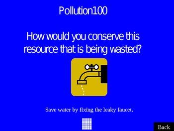 Pollution Jeopardy (Powerpoint)