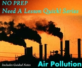 NO PREP Need A Lesson Quick! Series - Pollution Power Point