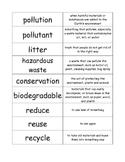Pollution Word Sort