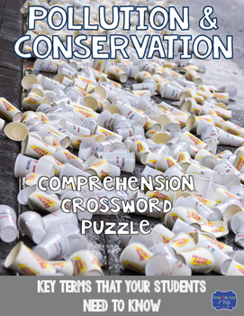 Pollution and Conservation Crossword