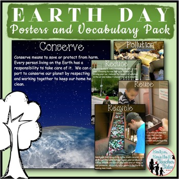 Earth Day {Posters and Vocabulary Pack}