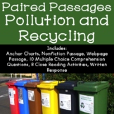 Pollution and Conservation Reading Comprehension Paired Passages