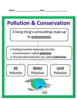 Pollution and Conservation Study Guide
