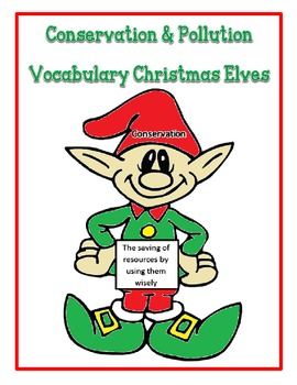 Pollution and Conservation Vocabulary Elves