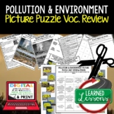 Pollution and the Environment Picture Puzzle Study Guide T