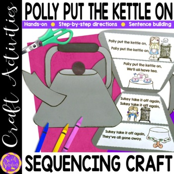 Polly Put the Kettle On craft activity