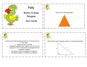 """Polly"" Sort Cards"