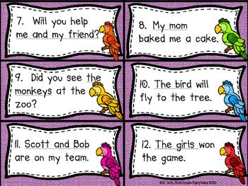 Polly Wants a Pronoun: A SCOOT or Task Card Center
