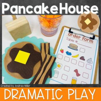Polly's Pancake House~Restaurant Dramatic Play