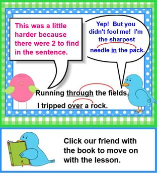 Polly's Prepositions