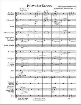 Concert Band Music - Polovtsian Dances