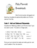 Poly Parrot Polynomial Digital Breakout