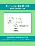 Polyatomic Ion Bingo!