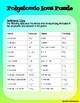 Polyatomic Ions Puzzle - Chemistry Active Practice