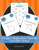 Polygon Angle Sum Theorem: Gallery Walk