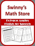 Finish My Speech: Polygon Angles
