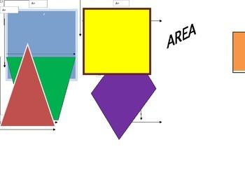 Polygon Area Graphic Organizer