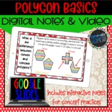 Polygon Basics Digital Notes; Distance Learning, Google Drive
