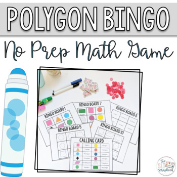 Polygon Bingo - No Prep Math Game