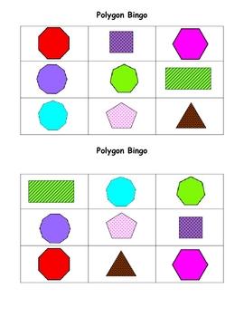 Polygon Bingo
