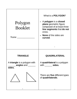 Polygon Booklet