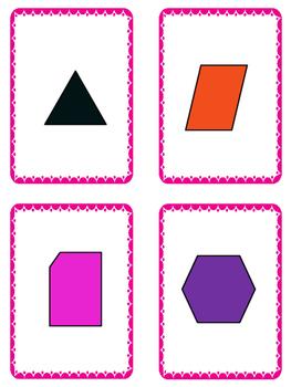 Math - Polygon Card Games