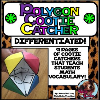 Polygon Cootie Catcher