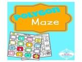 Polygon Geometry Maze Activity