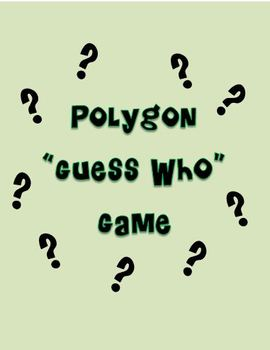 Polygon Guess Who Game