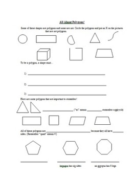 Polygon Guided Note Page