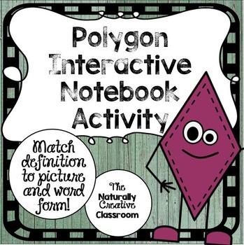 Polygon Interactive Notebook Activity