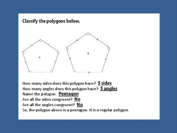 Polygon Lesson Plan
