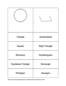 Polygon Match Activity