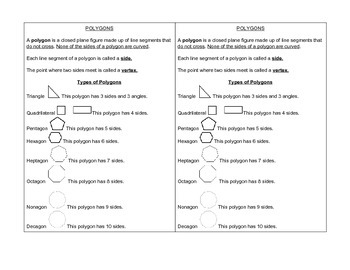 Polygon Math Journal Notes