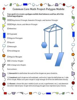 Polygon Mobile-Common Core Math Project