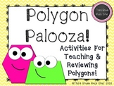 Polygon Palooza! Common Core Geometry Packet (Yellow Chevron)