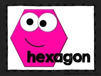 Polygon Palooza! Common Core Geometry Packet (Chalkboard Theme)