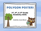 Polygon & Parallelogram Posters